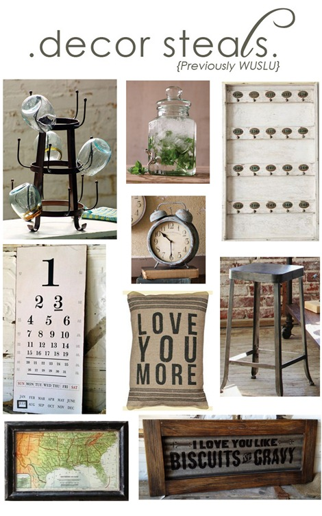 decor steals collage