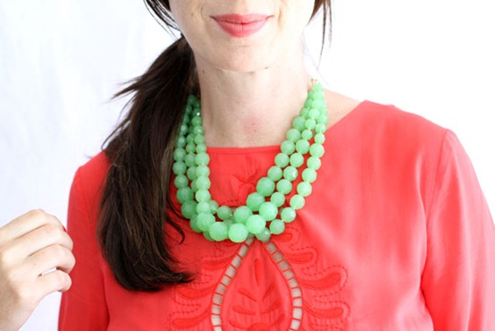 diy statement necklace makingitlovely