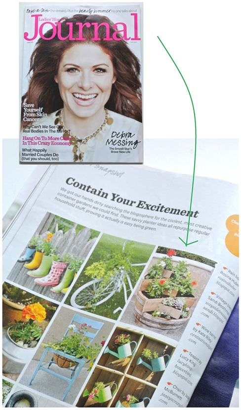 ladies home journal planter feature