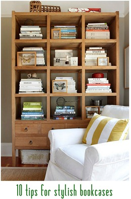 stylish bookcases