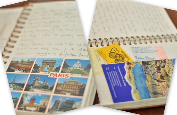 travel journal memories