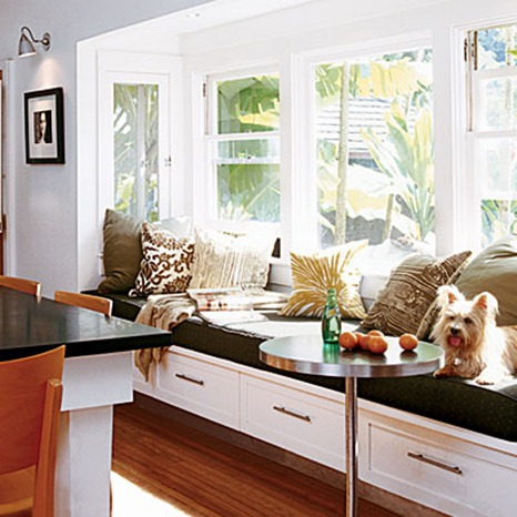 window seat coastal living