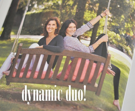 dynamic duo mom and daughter