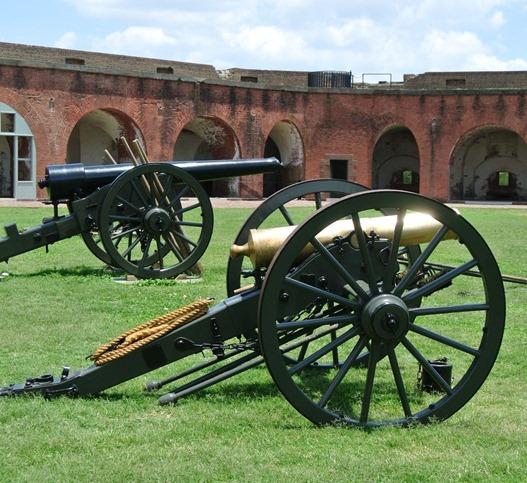 fort pulaski cannons