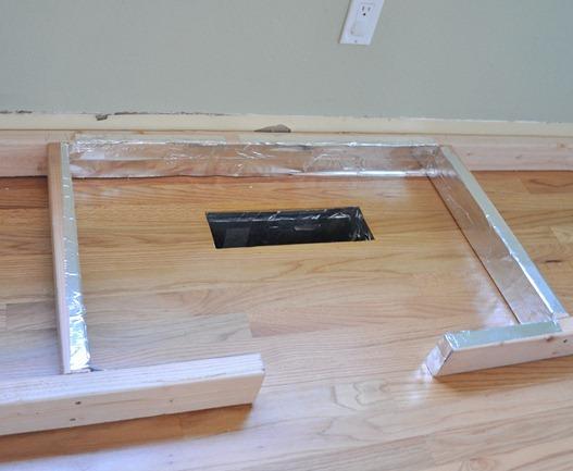 Baseboard Under Kitchen Cabinets