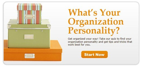 organization personality quiz