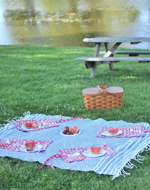 picnic at the lake