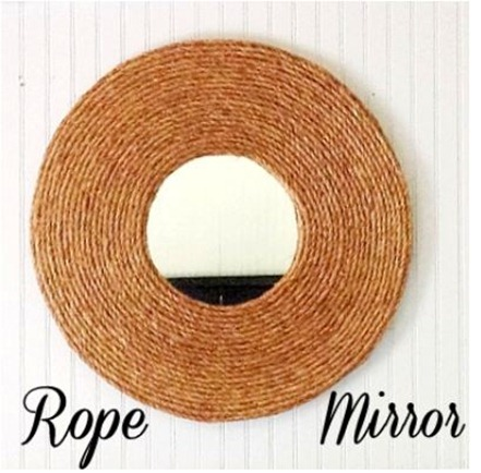 rope mirror shabbycreekcottage
