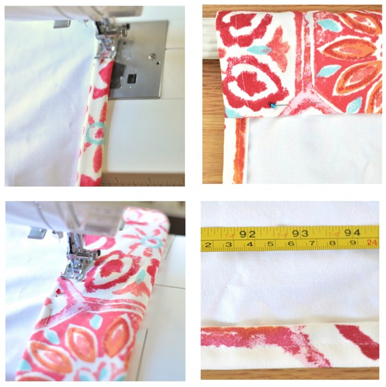 sew rod pocket panels
