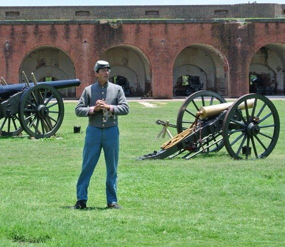 tour of fort pulaski