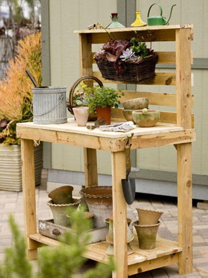 bhg potting bench