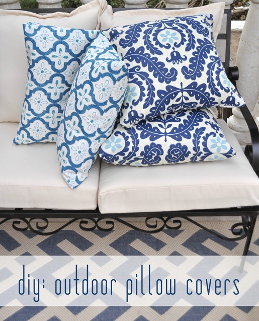 outdoor pillow covers easy outdoor pillow covers centsational 29078