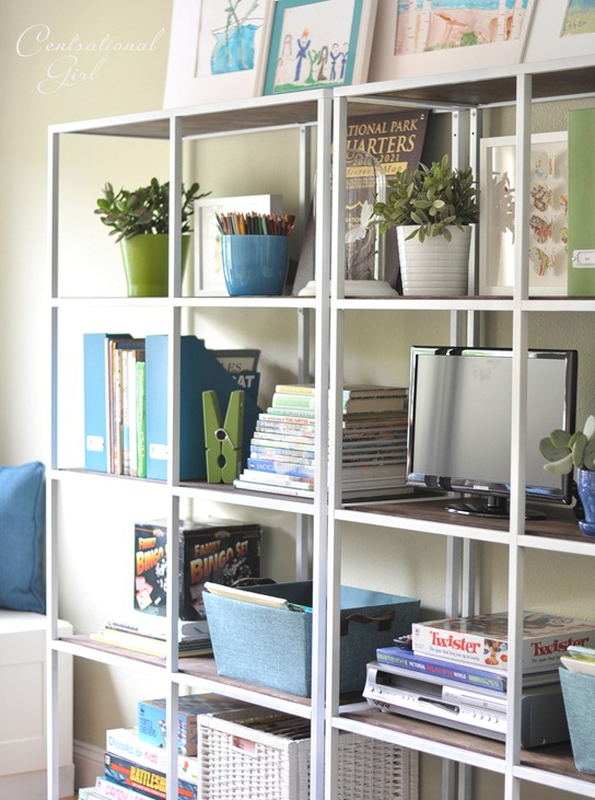 ikea shelves side view cg