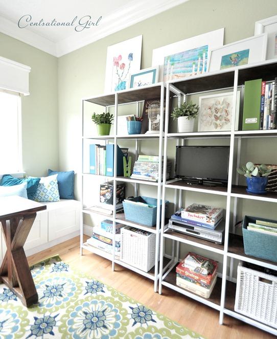 ikea shelving modified centsational girl. Black Bedroom Furniture Sets. Home Design Ideas