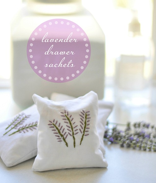lavender drawer sachets