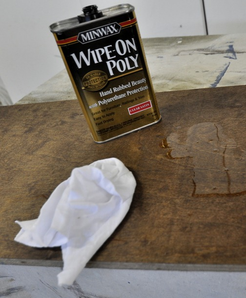 minwax wipe on polyurethane