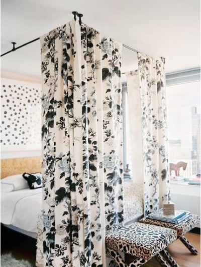 diy bed canopy lonny