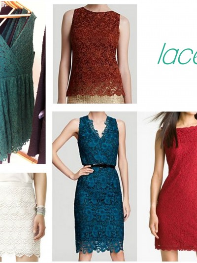 fall fashion lace