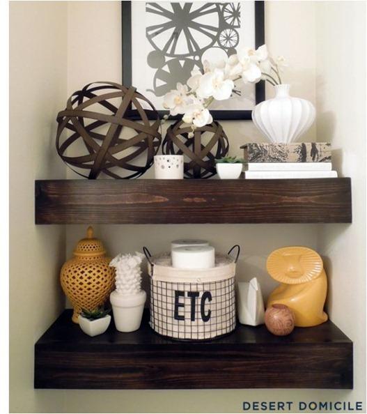 chunky shelves desert domicile