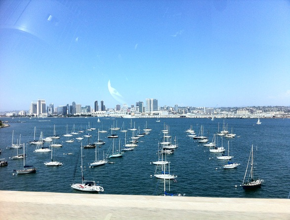 downtown san diego view
