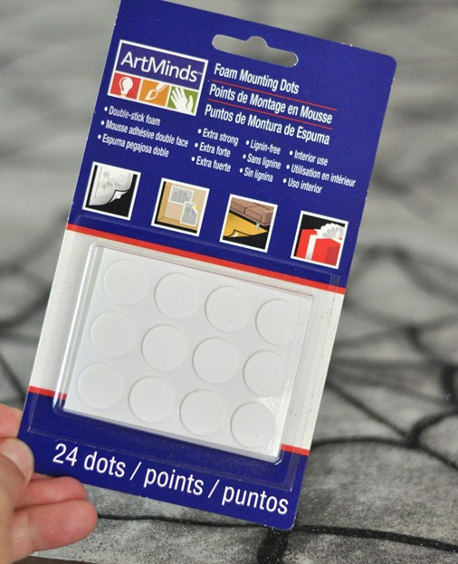 foam mounting dots