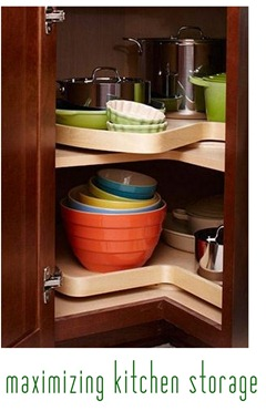 maximizing kitchen storage