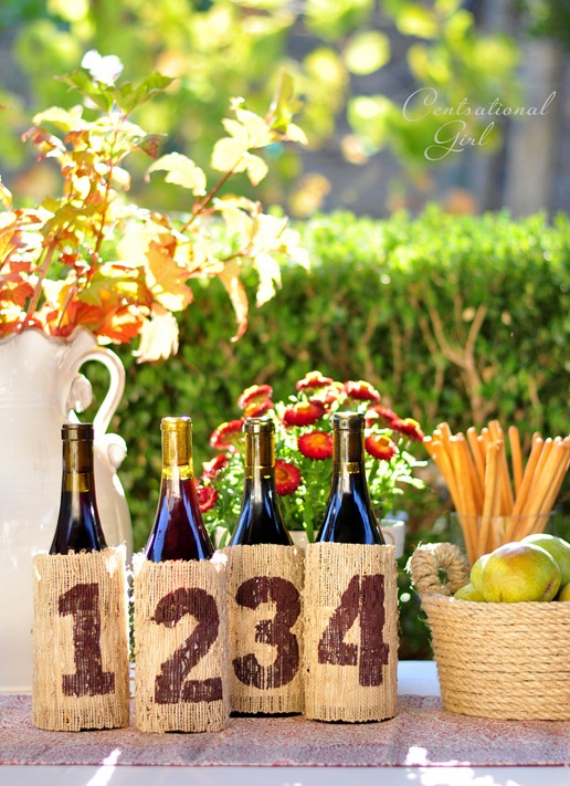 numbered wine bottle covers cg