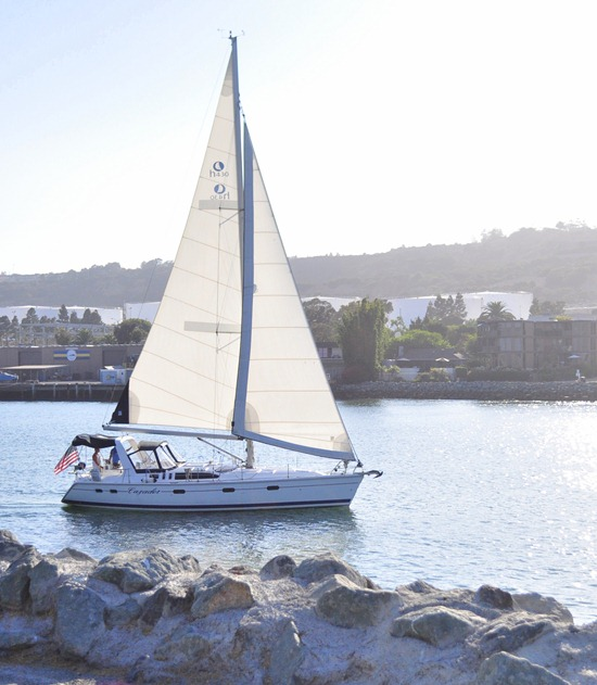 san diego sailboat