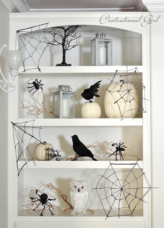 spooky spiderwebs centsational girl