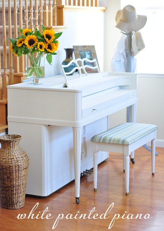 white painted piano centsational girl