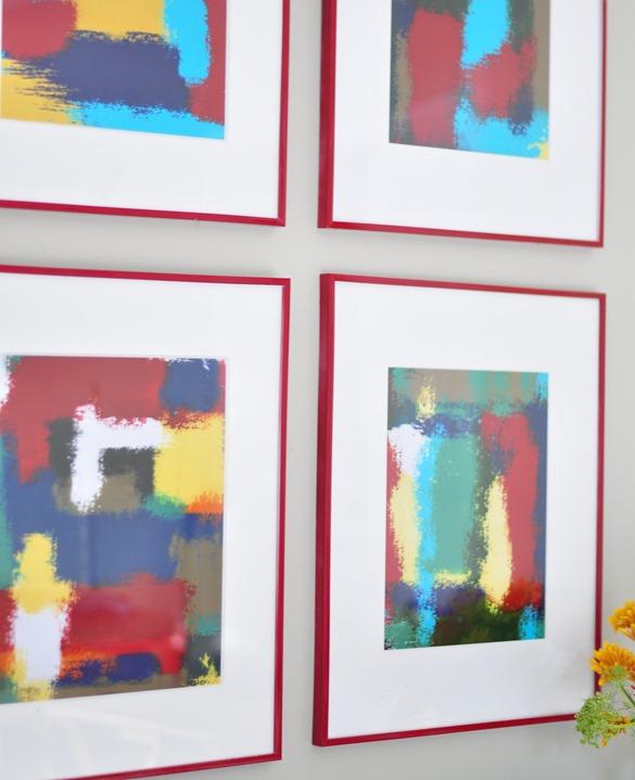 abstract art close up