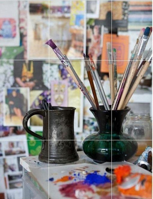 adore magazine paintbrushes