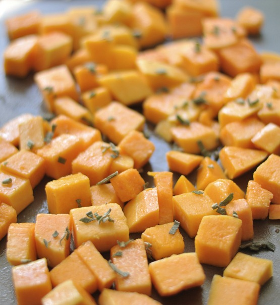 butternut squash diced
