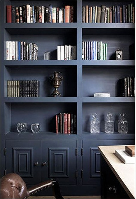 dark bookcases cochrane design