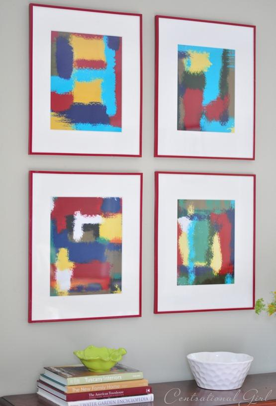 diy abstract art cg
