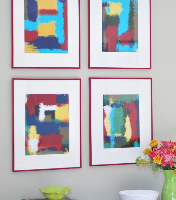 diy abstracts