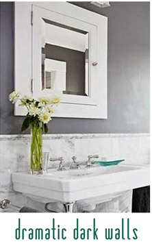 dramatic dark walls bhg