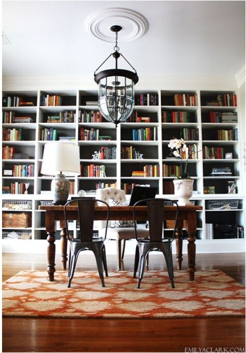 emily clark home office