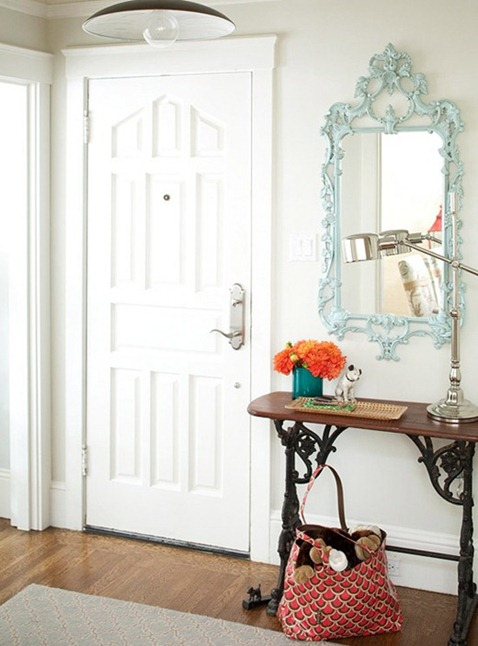 entry console mirror bhg