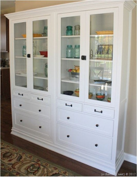 hemnes built ins a charming nest