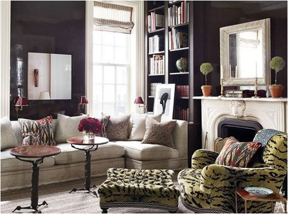 hot colors decorators adore