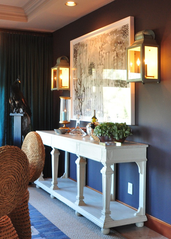napa showhouse dining room console