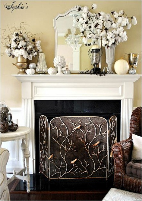 sophias decor mantel