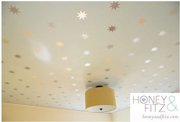 starry ceiling honeyandfitz
