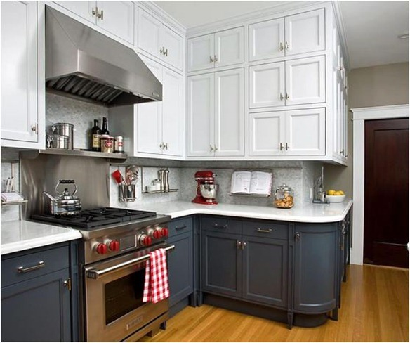 Kitchen Cabinets Light Upper Dark Lower ? Kitchen Ideas