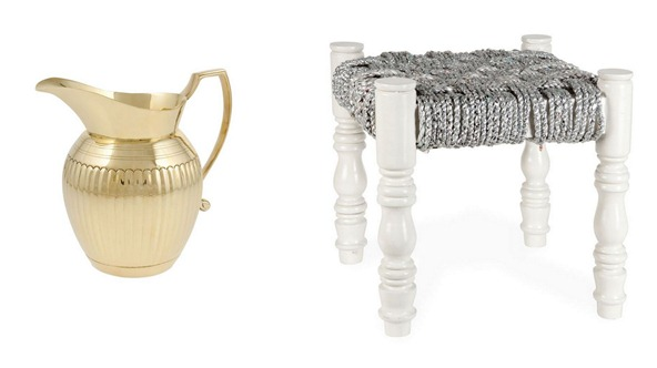 zara home metallics
