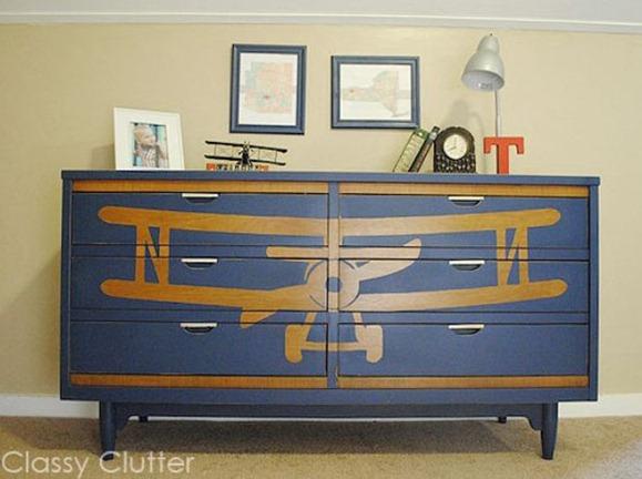 biplane dresser classy clutter
