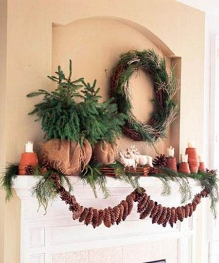 pinecone garland