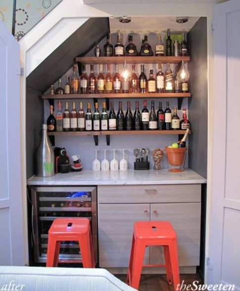 closet to wine bar