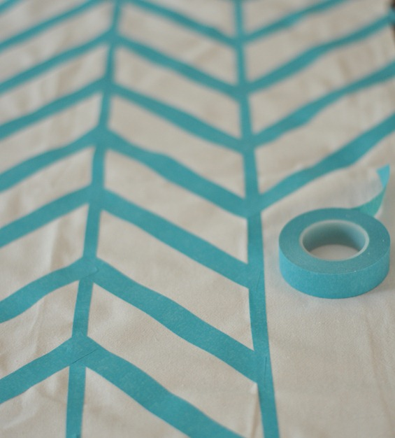 create pattern with tape
